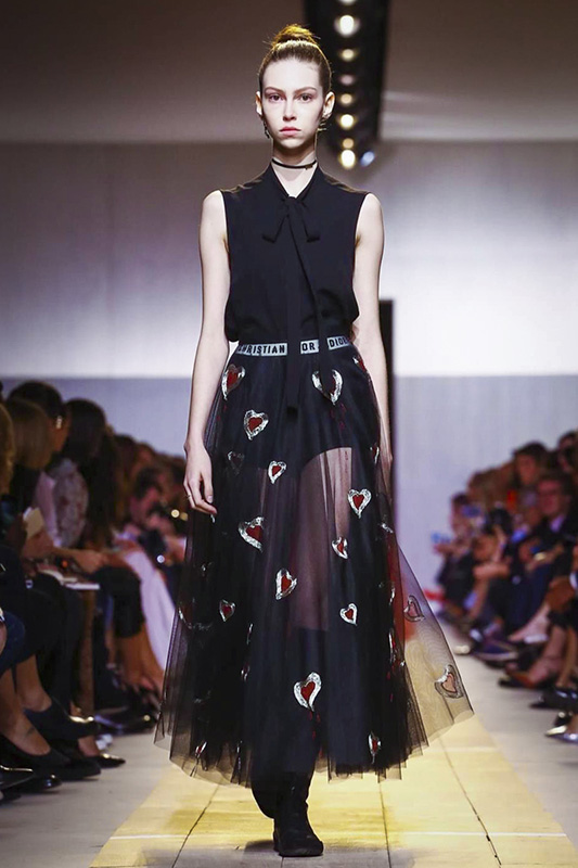Dior, Fashion Show, Ready to Wear Collection Spring Summer 2017 in Paris