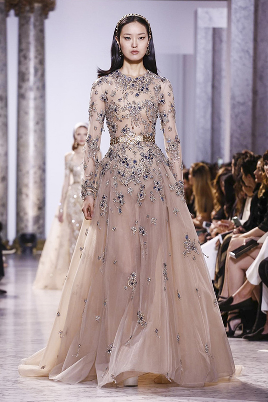 Elie Saab, Couture, Spring Summer 2017 in Paris