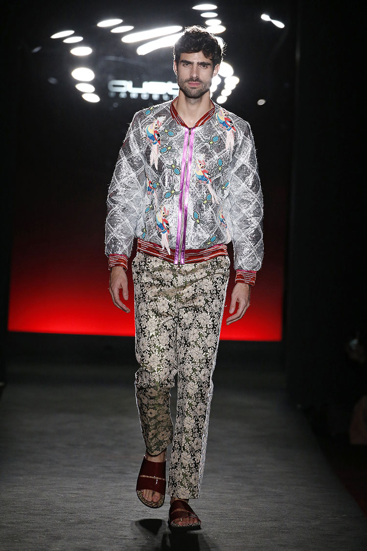 Custo Barcelona 080 Barcelona Fashion Fall/Winter 2018-2019