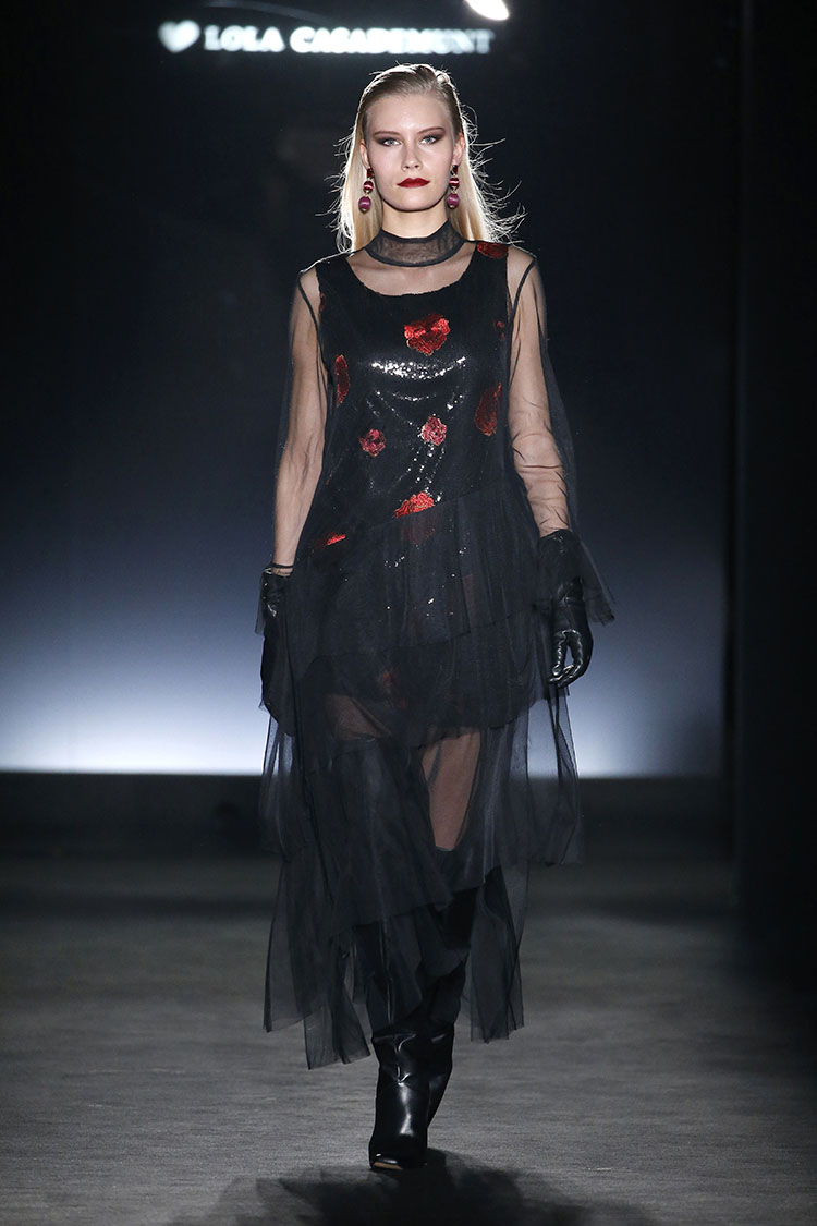 Lola Casademunt 080 Barcelona Fashion Fall/Winter 2018-2019