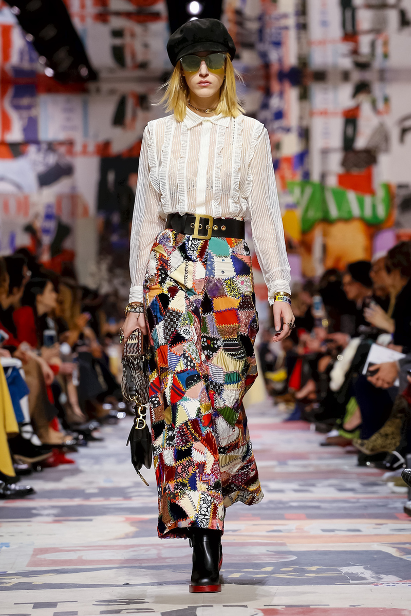Dior Fashion Show, Ready To Wear Collection Fall Winter 2018 in Paris