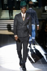 David Agbodji for Dsquared FW2013-2014