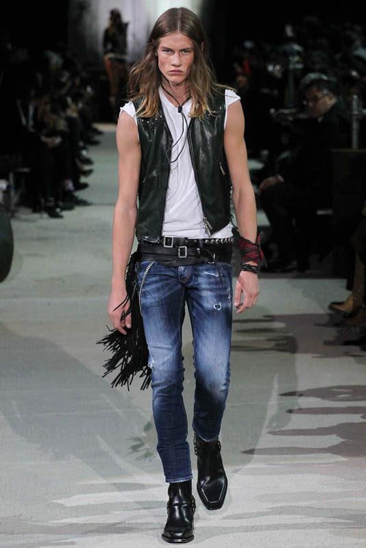 James Phillips for DSquared2