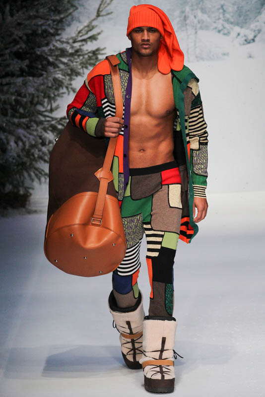 Rob Evans for Moschino