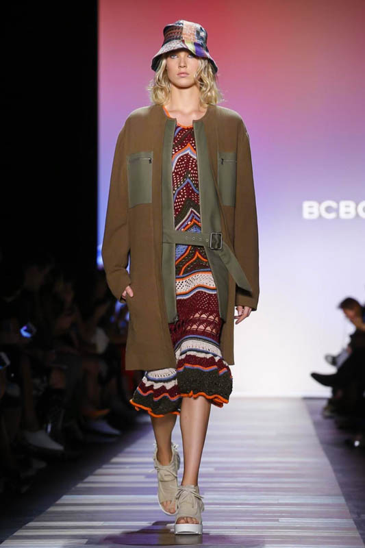 BCBG Fashion Show, Ready to Wear Collection Spring Summer 2016 in New York