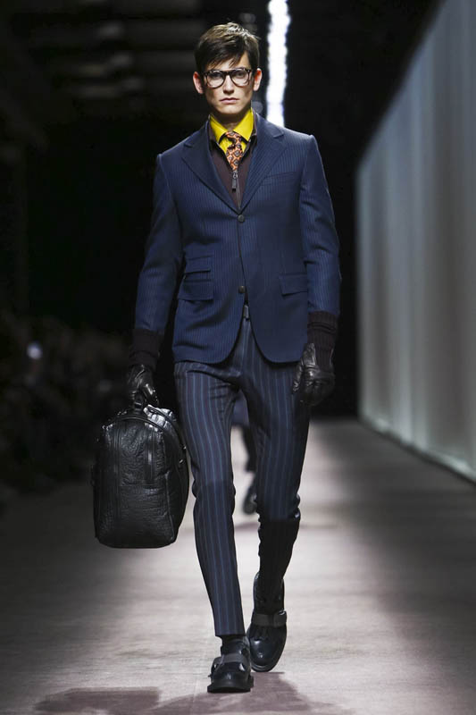 Canali Fashion Show, Menswear Collection Fall Winter 2016 in London