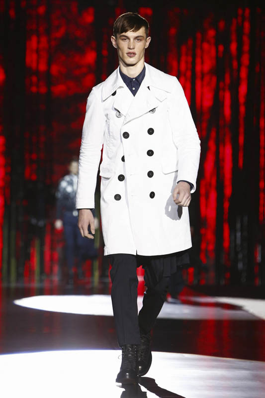 Dsquared2 Fashion Show, Menswear Collection Fall Winter 2016 in Milan