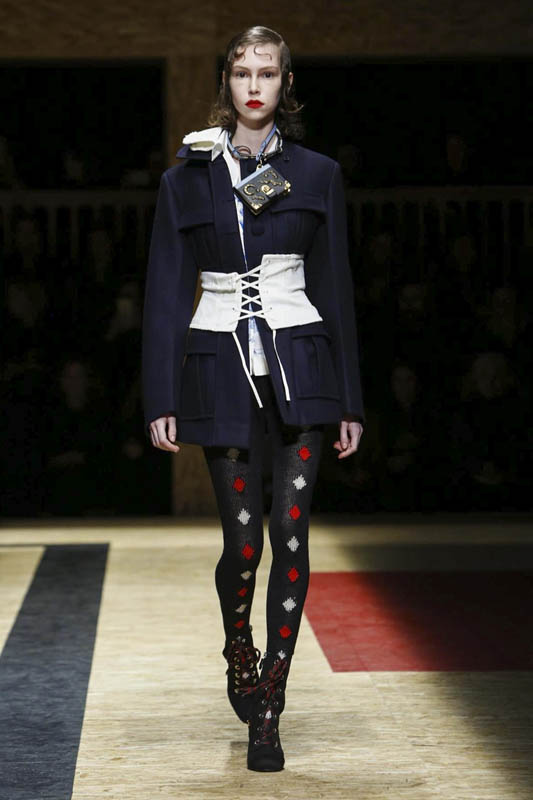 Prada Fashion Show, Ready to Wear Collection Fall Winter 2016 in Milan