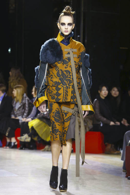 Sacai, Fashion Show, Ready To Wear Collection Fall Winter 2016 in Paris