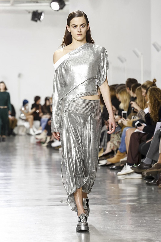 Paco Rabanne, Fashion Show Couture Collection Fall Winter 2017 in Paris