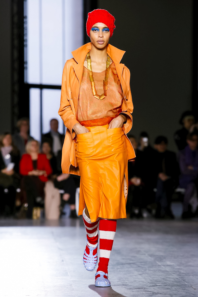Junko Shimada Fashion Show, Ready To Wear Collection Fall Winter 2018 in Paris