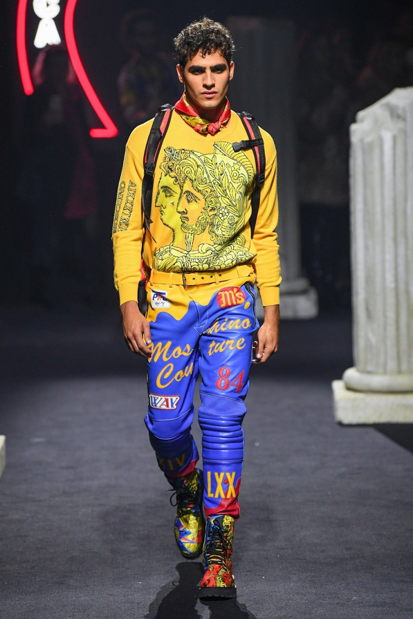 Jhonattan Burjack for Moschino