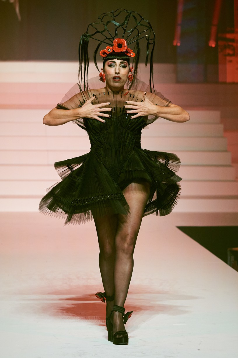 Rossy de Palma for Jean Paul Gaultier